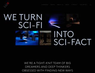 luxcapital.com screenshot