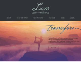 luxe.litedesignstudio.com screenshot