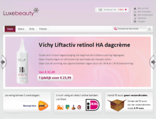 luxebeauty.nl screenshot