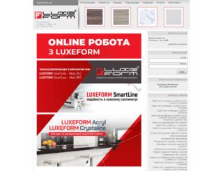 luxeform.ua screenshot