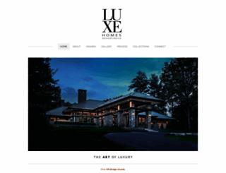 luxehomesdesignbuild.com screenshot