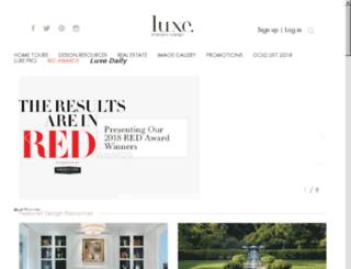 luxemagazine.com screenshot