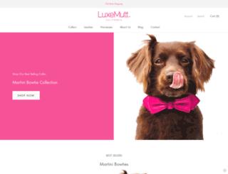 luxemutt.com screenshot