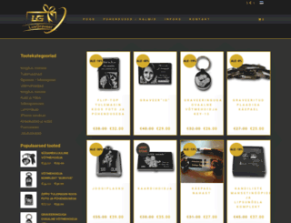 luxgraveer.com screenshot