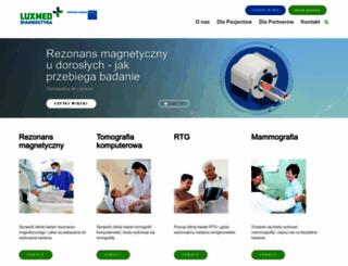 luxmed-diagnostyka.pl screenshot
