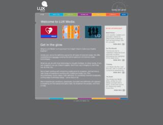 luxmedia.com screenshot