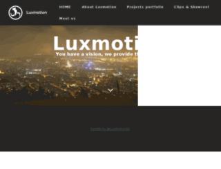 luxmotion.com screenshot