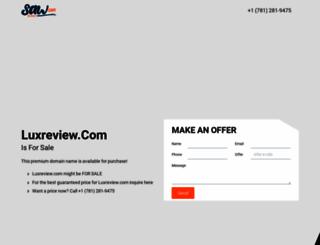 luxreview.com screenshot