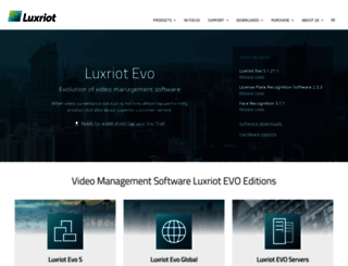 luxriot.com screenshot
