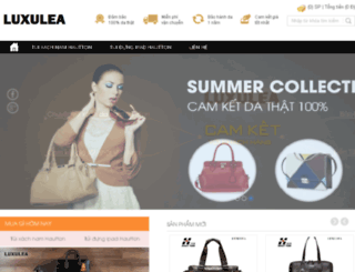 luxulea.com screenshot