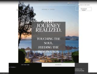 luxurycollectionexplorers.com screenshot