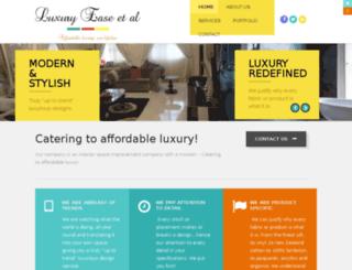 luxuryeaseetal.com screenshot