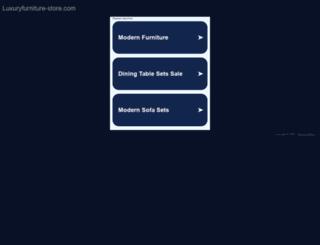 luxuryfurniture-store.com screenshot