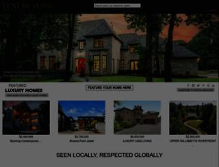 luxuryhomemagazine.com screenshot