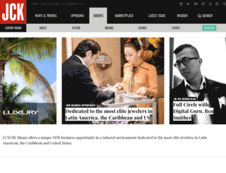 luxurymiami.jckonline.com screenshot
