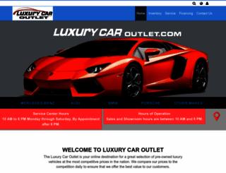 luxurymotors.com screenshot