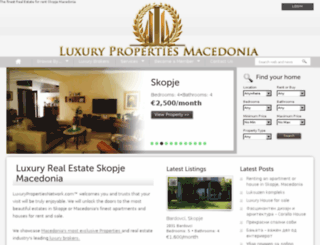 luxurypropertiesnetwork.com screenshot