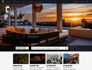 luxuryrealestate.com screenshot