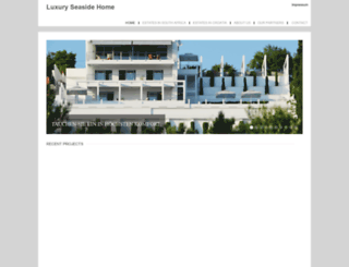 luxuryseasidehomes.biz screenshot