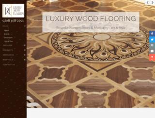 luxurywoodflooring.com screenshot