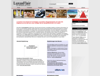 luxusflair.de screenshot