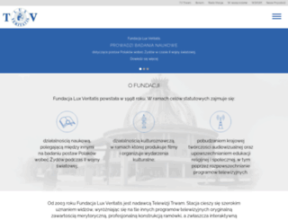 luxveritatis.pl screenshot