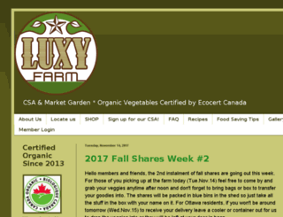 luxyfarm.com screenshot