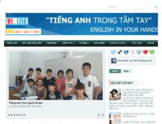 luyenthianhvan.edu.vn screenshot
