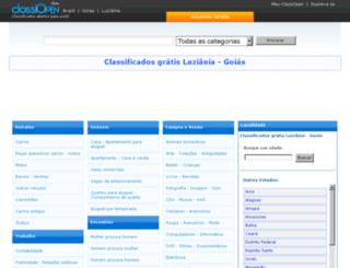 luziania.classiopen.com.br screenshot