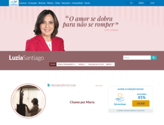 luziasantiago.com screenshot