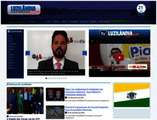 luzilandiaonline.com.br screenshot