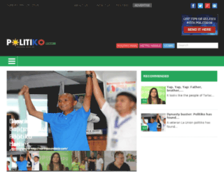 luzon.politics.com.ph screenshot