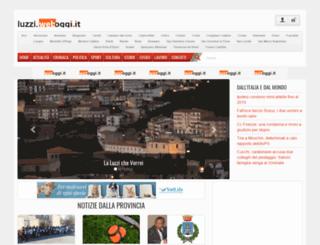 luzzi.weboggi.it screenshot