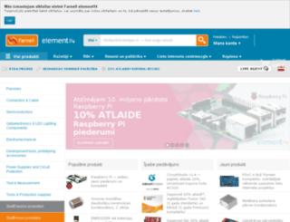 lv.farnell.com screenshot