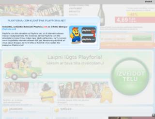 lv.playforia.com screenshot
