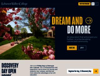 lvc.edu screenshot