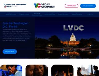 lvchamber.com screenshot