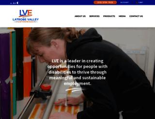 lve.com.au screenshot