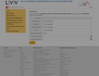 lvvneu.projektbereich.info screenshot