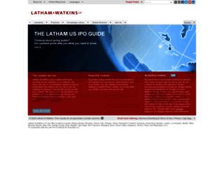 lw.com screenshot