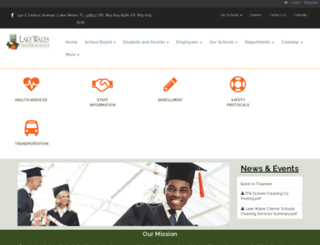 lwcharterschools.com screenshot