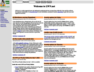 lwn.net screenshot
