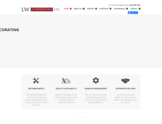 lwrenovations.co.uk screenshot