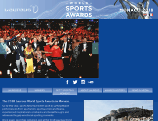 lwsa16.laureus.com screenshot