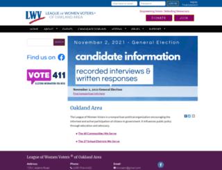 lwvoa.org screenshot