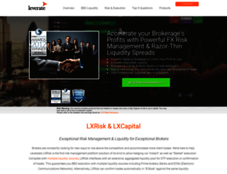lxcapital.leverate.com screenshot