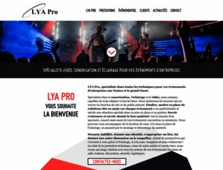 lya-pro.fr screenshot