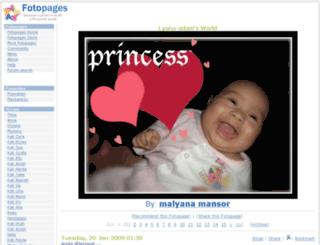 lyana-adam.fotopages.com screenshot