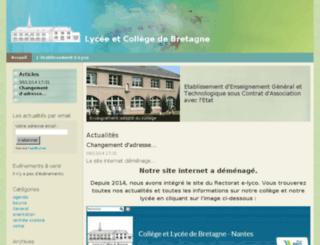 lyc-bretagne-44.ac-nantes.fr screenshot
