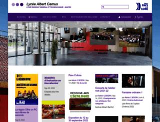 lyc-camus-44.ac-nantes.fr screenshot